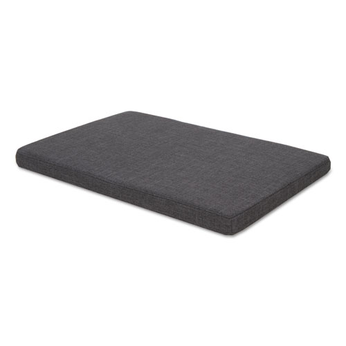 Seat Cushion for Low Credenzas, 29.5w x 19.13d x 2.13h, Smoke. Picture 1