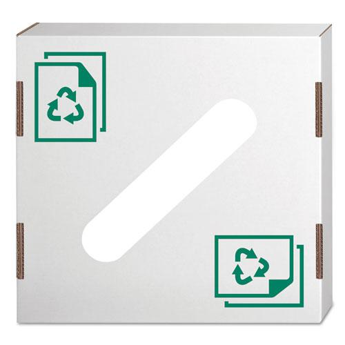 Waste And Recycling Bin Lid Paper White 10 Carton