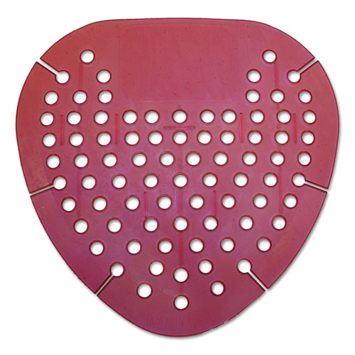 Gem Urinal Screen, Lasts 30 Days, Red, Spiced Apple Fragrance, 12/Box. Picture 2