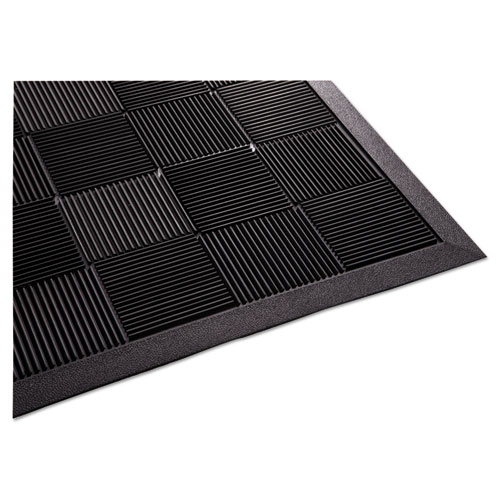 Parquet Wiper Scraper Mat, 36 x 60, Black. Picture 1