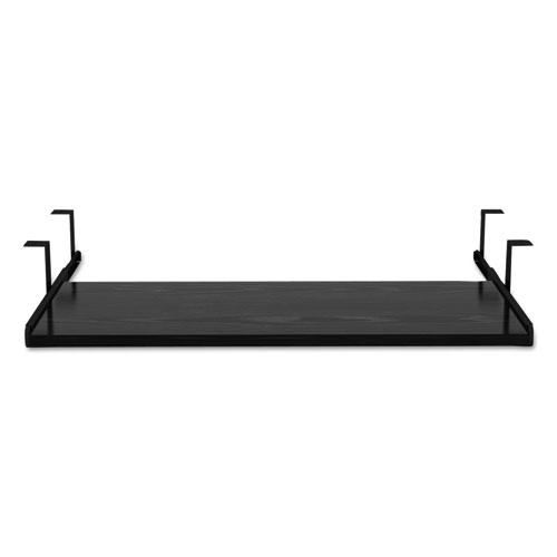 Alera Valencia Series Underdesk Keyboard/Mouse Shelf, 28w x 12d, Black. Picture 2