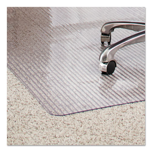 Dimensions Chair Mat for Carpet, Rectangular, 46 x 60, Clear. Picture 2