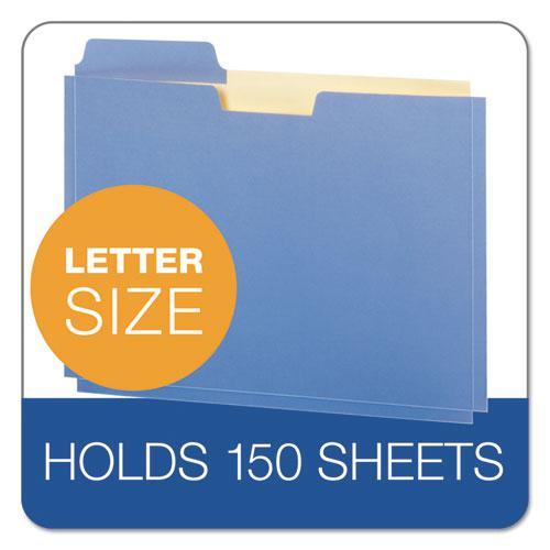 """File Folder Pocket, 0.75"""" Expansion, Letter Size, Assorted, 10/Pack. Picture 4"""