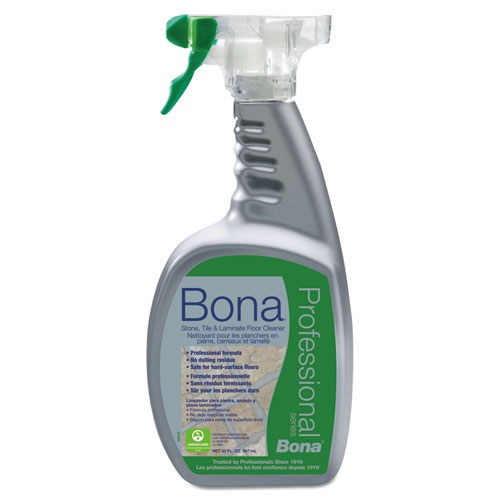 Stone, Tile and Laminate Floor Cleaner, Fresh Scent, 32 oz Spray Bottle. Picture 1