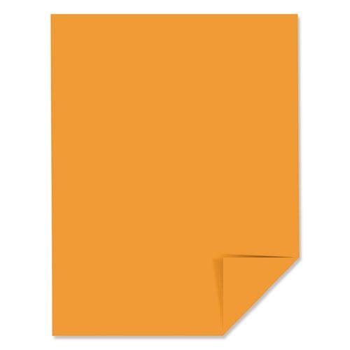 Color Paper, 24 lb, 8.5 x 11, Cosmic Orange, 500/Ream. Picture 2