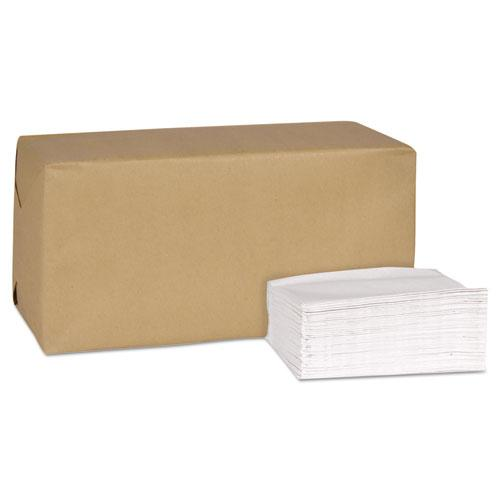Universal Masterfold Dispenser Napkins, 1-Ply, 13x 12, Bag-Pack, White, 6000/Ct
