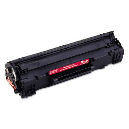 0282016001 283X High-Yield MICR Toner Secure, Alternative for HP CF283X, Black. Picture 1