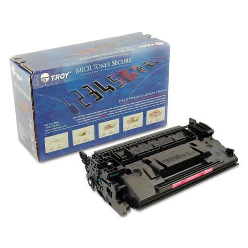 0281576001 226X High-Yield MICR Toner Secure, Alternative for HP CF226X, Black. Picture 1