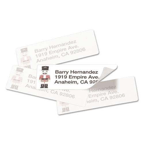 Repositionable Address Labels w/SureFeed, Laser, 1 x 2 5/8, White, 3000/Box. Picture 3