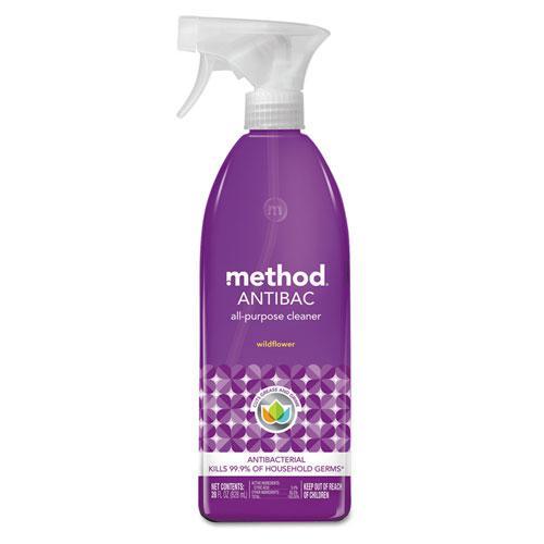 Antibac All-Purpose Cleaner, Wildflower, 28 oz Spray Bottle. Picture 1