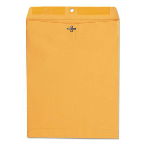 Kraft Clasp Envelope, #97, Squar Flap, Clasp/Gummed Closure, 10 x 13, Brown Kraft, 100/Box. Picture 1