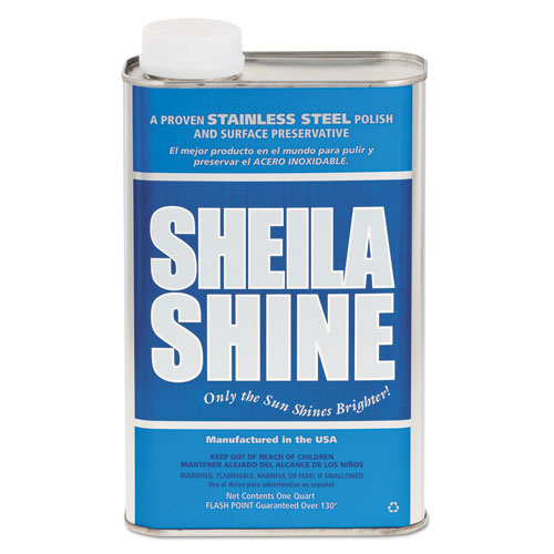 Stainless Steel Cleaner and Polish, 1 qt Can. Picture 1