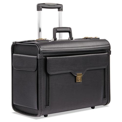 Catalog Case on Wheels, Koskin, 19 x 9 x 15-1/2, Black. Picture 1