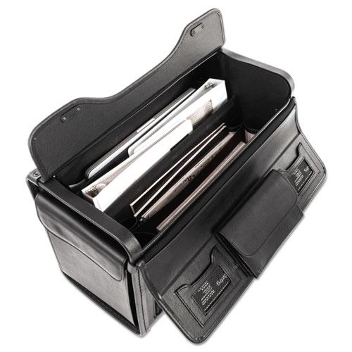 Catalog Case on Wheels, Koskin, 19 x 9 x 15-1/2, Black. Picture 2