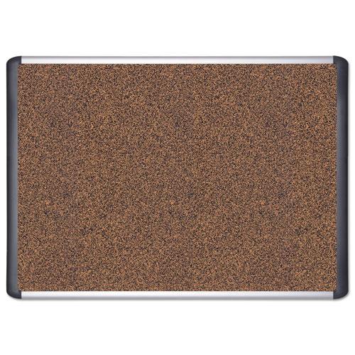 Tech Cork Board, 36x48, Silver/Black Frame. Picture 2