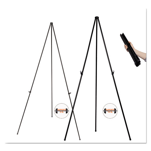 """Instant Easel, 61 1/2"""", Black, Steel, Lightweight. Picture 3"""
