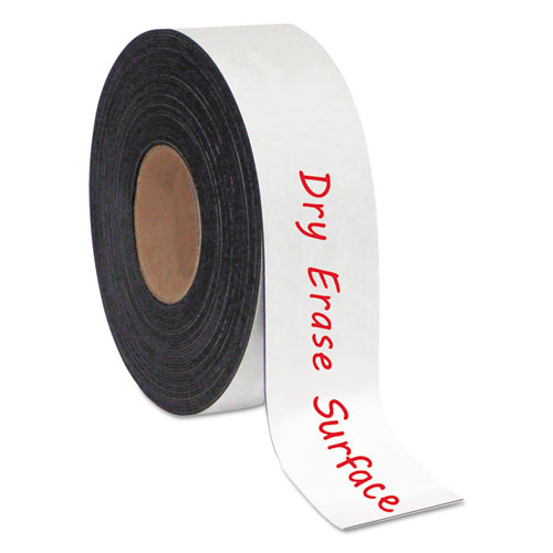 """Dry Erase Magnetic Tape Roll, White, 2"""" x 50 Ft.. Picture 3"""