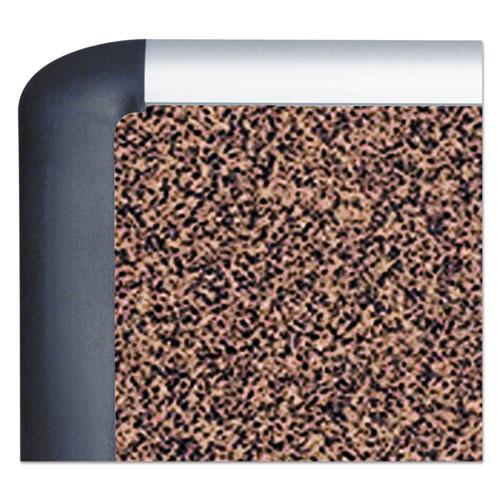 Tech Cork Board, 36x48, Silver/Black Frame. Picture 3