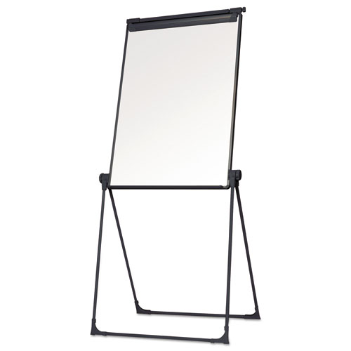 Folds-to-a-Table Melamine Easel, 28 1/2 x 37 1/2, White, Steel/Laminate. Picture 3