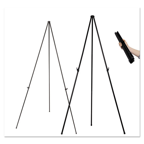 """Instant Easel, 61 1/2"""", Black, Steel, Lightweight. Picture 4"""