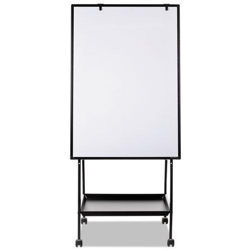 Creation Station Dry Erase Board, 29 1/2 x 74 7/8, Black Frame. Picture 11