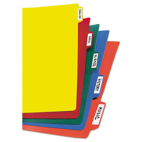 Heavy-Duty Plastic Dividers with Multicolor Tabs and White Labels , 5-Tab, 11 x 8.5, Assorted, 1 Set. Picture 2