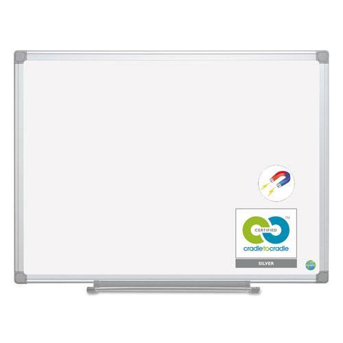 Earth Ceramic Dry Erase Board, 36x48, Aluminum Frame