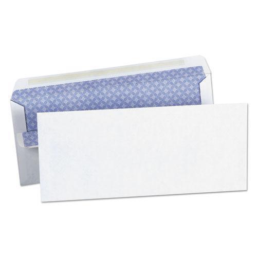 Self-Seal Business Envelope, #10, Square Flap, Self-Adhesive Closure, 4.13 x 9.5, White, 500/Box. Picture 1