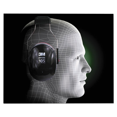 PELTOR OPTIME 105 High Performance Ear Muffs H10A. Picture 3