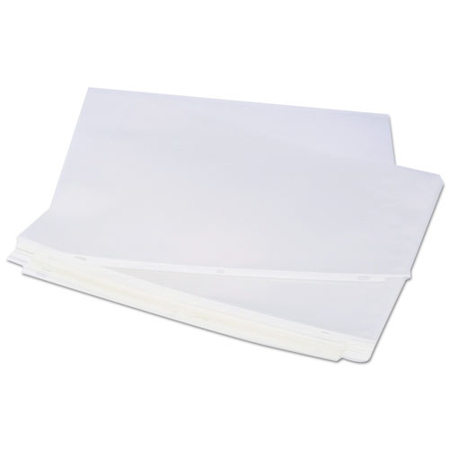 Top-Load Poly Sheet Protectors, Standard, Letter, Clear, 100/Box. Picture 4