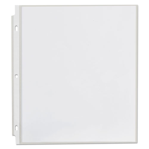 Top-Load Poly Sheet Protectors, Economy, Letter, 100/Box. Picture 6