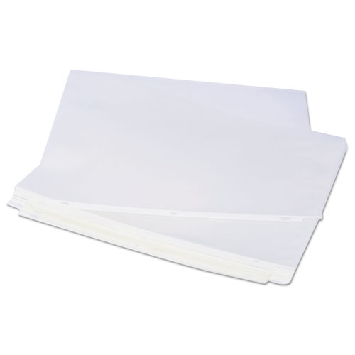 Top-Load Poly Sheet Protectors, Economy, Letter, 100/Box. Picture 3