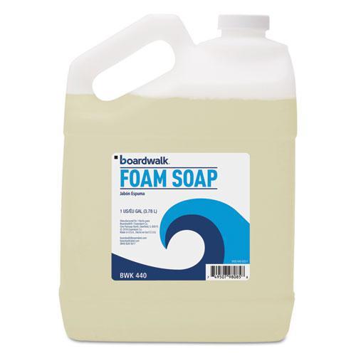 Foaming Hand Soap, Honey Almond Scent, 1 Gallon Bottle, 4/Carton. Picture 1