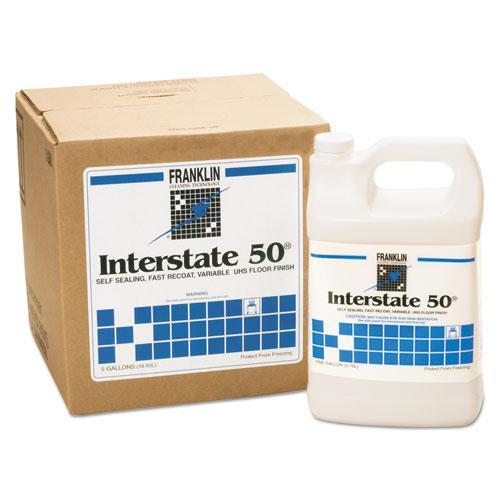 Interstate 50 Floor Finish, 1gal Bottle, 4/Carton. Picture 1