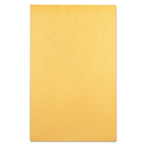 Redi-Strip Kraft Expansion Envelope, #10 1/2, Square Flap, Redi-Strip Closure, 9 x 12, Brown Kraft, 25/Pack. Picture 2