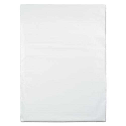 Redi-Strip Poly Mailer, #6, Square Flap, Redi-Strip Closure, 14 x 19, White, 100/Pack. Picture 3