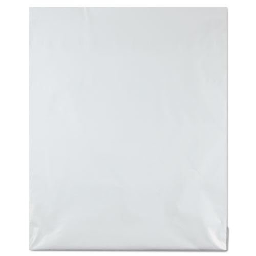 Redi-Strip Poly Mailer, #5 1/2, Square Flap, Redi-Strip Closure, 14 x 17, White, 100/Pack. Picture 2