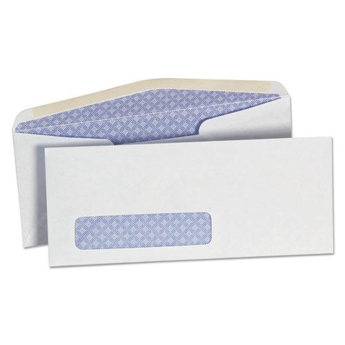 Security tinted window business envelope 10 4 1 8 x 9 1 for 2 window envelope