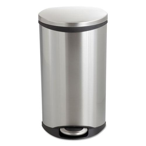 Step-On Medical Receptacle, 7.5 gal, Stainless Steel. Picture 2