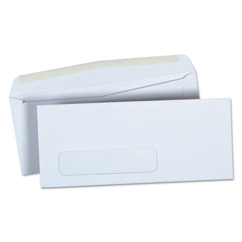 Business Envelope, #9, Square Flap, Gummed Closure, 3.88 x 8.88, White, 500/Box. Picture 1