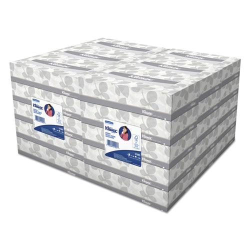 White Facial Tissue 2 Ply 100 Tissues Box 5 Boxes Pack