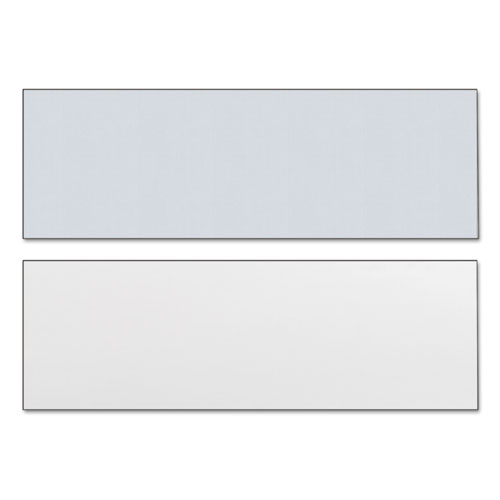 Reversible Laminate Table Top, Rectangular, 71 1/2w x 23 5/8d, White/Gray. Picture 2