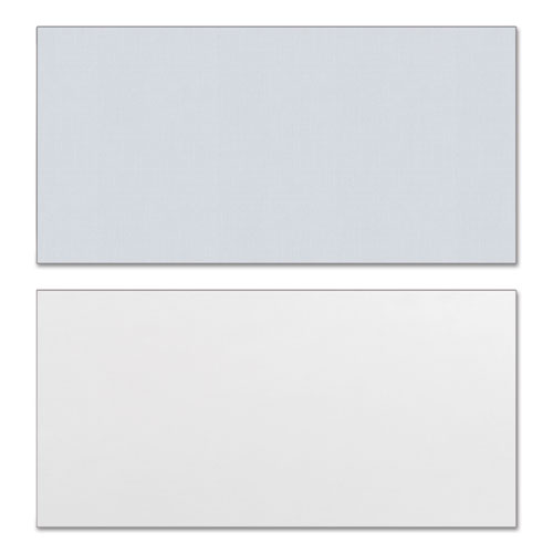 Reversible Laminate Table Top, Rectangular, 59 3/8w x 29 1/2d, White/Gray. Picture 2