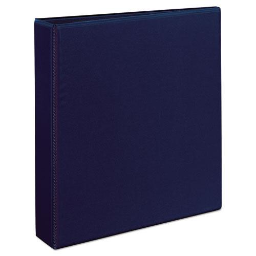 """Heavy-Duty View Binder with DuraHinge and One Touch EZD Rings, 3 Rings, 1.5"""" Capacity, 11 x 8.5, Navy Blue. Picture 10"""