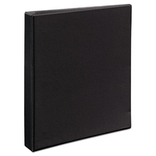 """Durable View Binder with DuraHinge and EZD Rings, 3 Rings, 1"""" Capacity, 11 x 8.5, Black, (9300). Picture 6"""