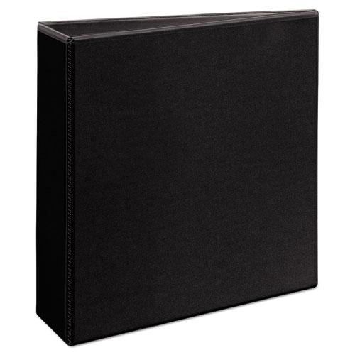 """Durable View Binder with DuraHinge and EZD Rings, 3 Rings, 3"""" Capacity, 11 x 8.5, Black, (9700). Picture 4"""