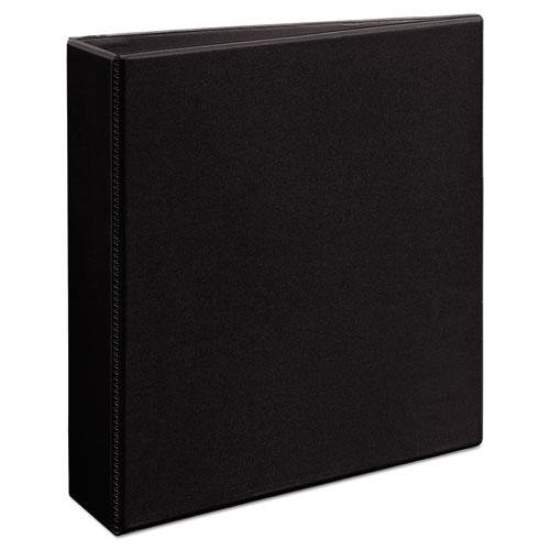 "Durable View Binder with DuraHinge and EZD Rings, 3 Rings, 2"" Capacity, 11 x 8.5, Black, (9500). Picture 9"