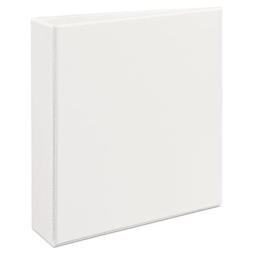"""Durable View Binder with DuraHinge and EZD Rings, 3 Rings, 2"""" Capacity, 11 x 8.5, White, (9501). Picture 3"""