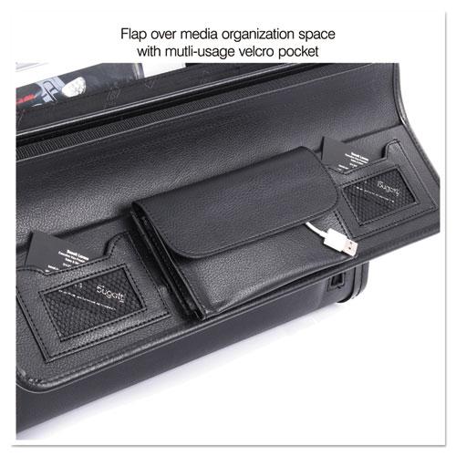 Catalog Case on Wheels, Koskin, 19 x 9 x 15-1/2, Black. Picture 10