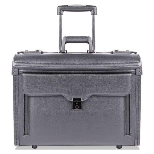 Catalog Case on Wheels, Koskin, 19 x 9 x 15-1/2, Black. Picture 4